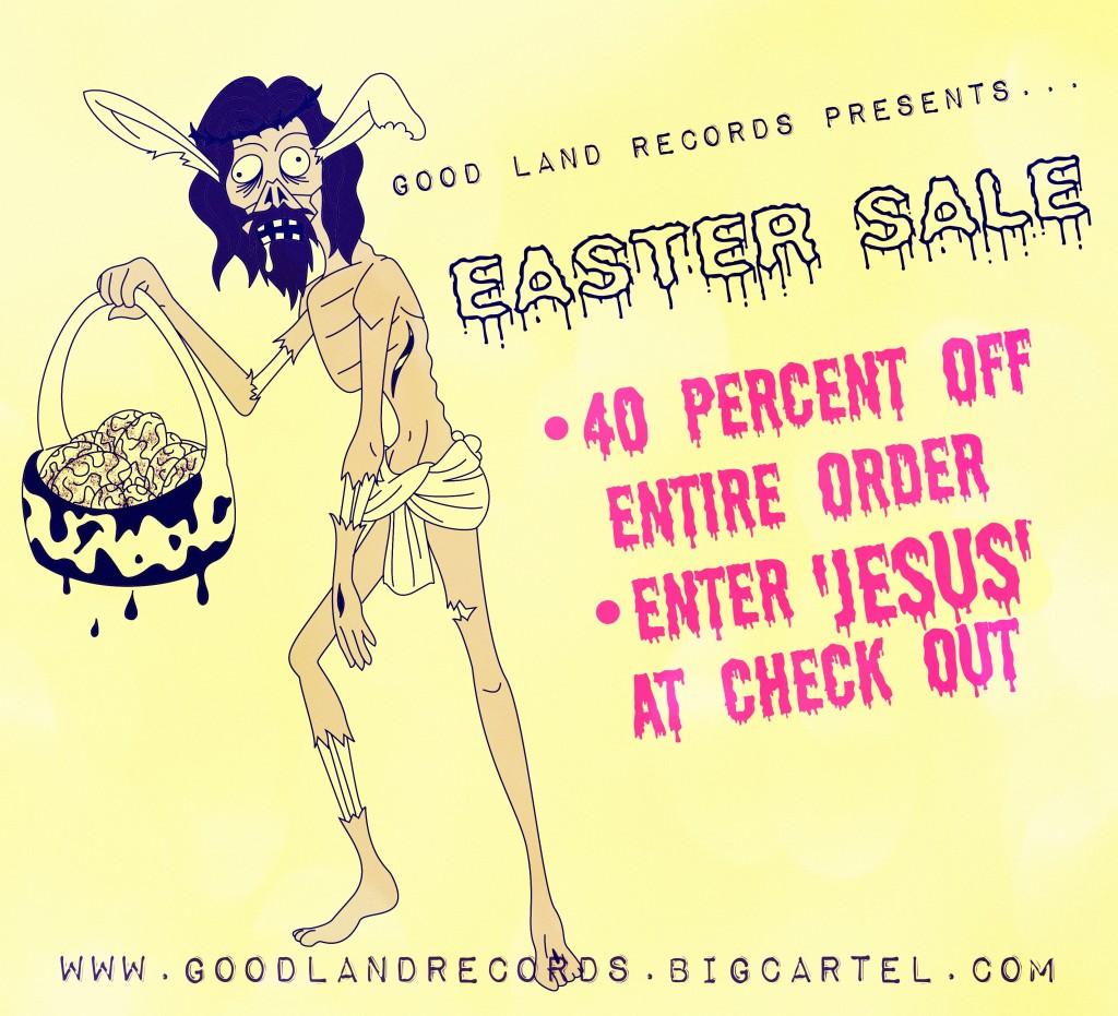 GLR Easter Sale